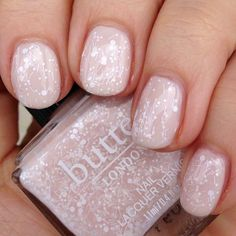 Butter London - Doily over Pink Ribbon