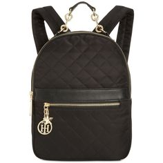 8b7d00123de Tommy Hilfiger Charm Quilted Small Backpack ( 118) ❤ liked on Polyvore  featuring bags
