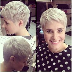 Very Short Hairstyles with Layers: 2015 Haircuts for Women Over 40 - 50