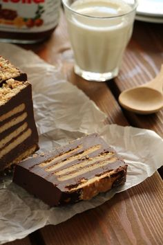 Fudge με nutella υλικά) - The one with all the tastes Dessert Recipes For Kids, Dessert Cake Recipes, Desert Recipes, Just Desserts, Nutella Recipes, Chocolate Recipes, Nutella Biscuits, Quick Cinnamon Rolls, Cheesecake