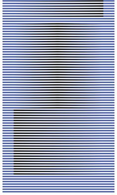 Ouch Ouch! Cool cool! Ouch Ouch! Carlos Cruz-Diez  (Venezuela, b. 1923)  Induction du jaune du série Denise /   Induction of Yellow from the series Denise, 2007  chromograph on paper mounted on aluminum, ed. 2/8, 70 7/8 x 31 1/2 in.