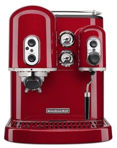 KitchenAid Artisan 5KES2102EOB Espressomaschine Professioneller Siebträger Rot