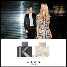 В началото на 2014 г. италианската модна къща Krizia стартира два нови парфюма. Това са дамският Krizia Pour Femme и мъжкият Krizia Pour Homme. Вече налични в нашия електронен магазин Parfumi.net