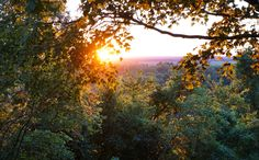 Sunset at Merom Bluff in Sullivan County Indiana photographed by Wandering Ways Photography 2016