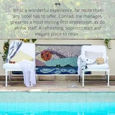 Conrad and the team are so grateful for the kind words written on our TripAdvisor page, we really appreciate the time our guests take to write about their time at The Last Word Franschhoek.