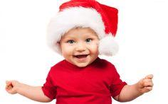 Dziecko, Uśmiech, Strój, Mikołaja