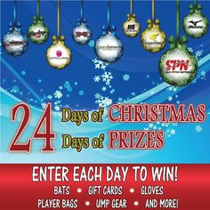 Day 23 - Enter to Win a $250 Visa PrePaid Card – from Slo-Pitch National