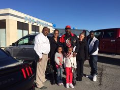 Another Escape has left the lot! Here is our own Jennifer Hughes with the Simmons family and their BRAND NEW 2015 Escape! Thank you so much for your business, and we hope you all enjoy your new SUV! Congrats!