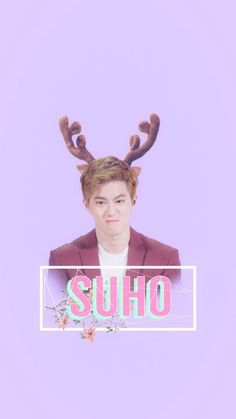 Suho hyung our leader Kim Joon Myeon, Korean Babies, Suho Exo, Kpop Groups, Cute Wallpapers, Fan Art, Pastel, Backgrounds, Black