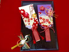 Diy And Crafts, Paper Crafts, New Years Decorations, Mother And Child, Japanese Style, Gift Wrapping, Dolls, Gifts, Handmade