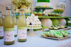 [Inspiration] Pea in the Pod Baby Shower - Spaceships and Laser Beams