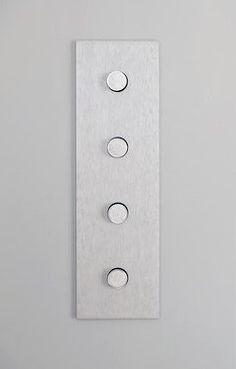NU Architectuur | Apartment Showroom (switch detail) | Barcelona