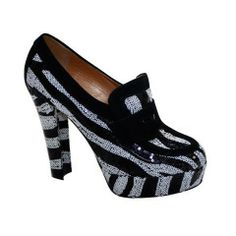 Viktor  Rolf  Zebra Tuxedo Black/White  Sequince Shoes