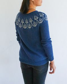 Ravelry: Anaashah pattern by Jennifer Steingass Fair Isle Chart, Sport Weight Yarn, Got 1, Ravelry, Free Pattern, Knitting Patterns, Pullover, Sweaters, Stuff To Buy
