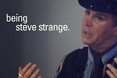 Steve Strange Interview Steve Strange, Stranger Things Steve, Strange Photos, Electronic Music, Interview, Inspiration, Biblical Inspiration, Inspirational, Inhalation