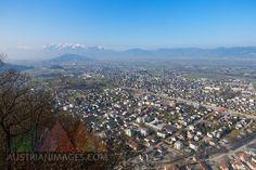 Austria, Vorarlberg, Rhine Valley, Viktorsberg, View to Hohenems Ems, Austria, City Photo, Mountains, Nature, Travel, Bavaria, Germany, Viajes