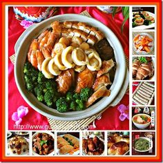 SPECIAL COMPILATION OF 35 CHINESE NEW YEAR RECIPES–PART 2– Auspicious Savoury Dishes ( 35 春节食谱汇编 2– 年菜)