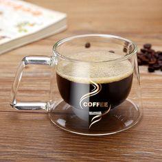 Double Layers Glass Mug – It's Okay To Be Weird