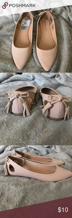 Cream madden girl flats, size 7, never worn. Cream madden girl flats, size 7, never worn. No trades. Madden Girl Shoes Flats & Loafers