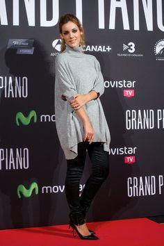 Alejandra Onieva con jeans de LeRock Collection y jersey oversize de Lolitas&L