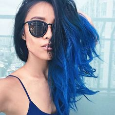 "269 Likes, 6 Comments - BACKROOM (@backroom) on Instagram: ""#BKRMXBLOGGER @nunstyleblog stayin' true to blue """
