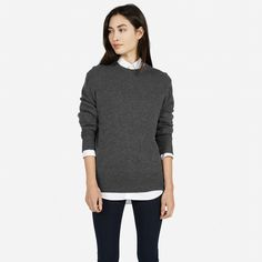 Men's Cashmere Crew for Her - Everlane
