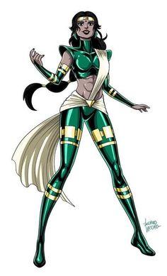 Green Superhero, Superhero Suits, Superhero Characters, Girls Characters, Female Characters, Marvel Dc, Marvel Heroes, Comic Book Artists, Comic Artist