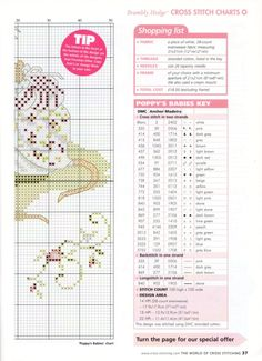 Gallery.ru / Фото #19 - The world of cross stitching 069 март 2003 - WhiteAngel