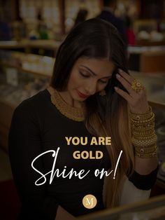 Every side of you is beautiful, accessorize it and become a timeless beauty. Shop now. #MalaniJewelers #Gold Diamond Rings, Diamond Jewelry, Gemstone Jewelry, Gold Jewelry, Jewelry Quotes, Beauty Shop, You Are Beautiful, Timeless Beauty, Ring Designs