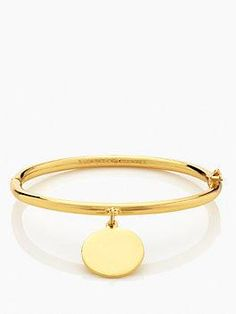 partners in crime hinged idiom bangle by kate spade new york
