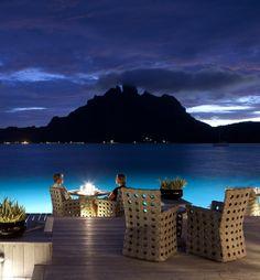 Most romantic getaway island - Tahiti
