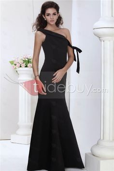 Amazing Mermaid One-Shoulder Juliana's Floor Length Evening Dress(Free Shipping)