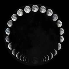 moon phases ...