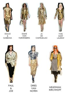 SS 14 Trends - Gold Dust.