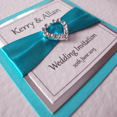 Regal Wedding Invitation... great one but with the brides color theme!