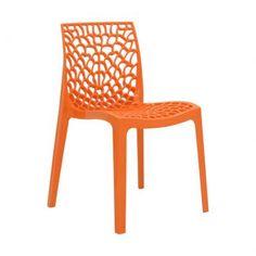 Compre Cadeira Gruvyer Laranja e pague em até 12x sem juros. Na Mobly a sua compra é rápida e segura. Confira!