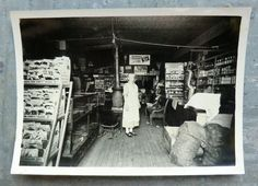 Photo of an old general store.