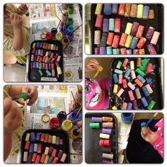 painting corks