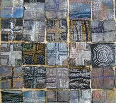 Wood Stitchery experiment by Robyn Gordon For the past few months I've been experimenting with stitching wood. It's quite hard on the ha...