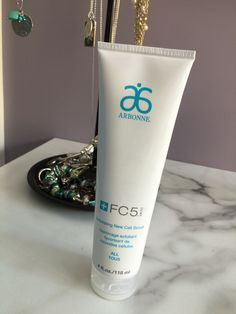 Arbonne FC5 Exfoliating New Cell Scrub. I love this product so much! It makes my skin super soft!