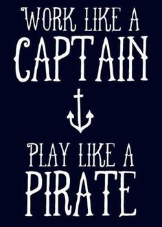Party like a pirate ;)