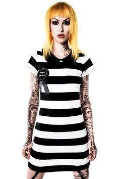 Strange Suspender Dress [B]