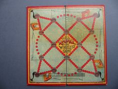 An example of the game Radio with pictures, Board Games, Game Boards, Name Games, Vintage Games, Wooden Boxes, Objects, Pictures, Cards, Games