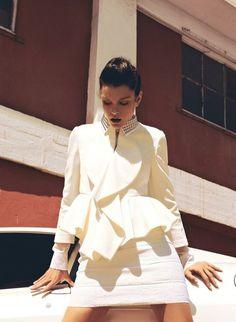 Jessica Stam in Harper's Bazaar Turkey, July 2012