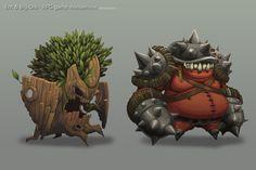 Ent & Ork, Robin Jeong on ArtStation at https://artstation.com/artwork/ent-ork