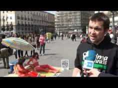 Se tiñen de sangre en la Puerta del Sol contra las pruebas con animales. Contacta con ventas@efe.es si quieres acceder a todos nuestros vídeos