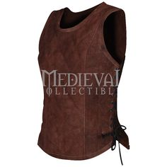 Lucy Padded Suede Bodice - MY100119 by Medieval Collectibles