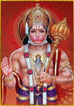 Jai Shree Hanuman - Krishna Roy - Go Hanuman Jayanthi, Hanuman Photos, Hanuman Images, Hanuman Live Wallpaper, Hanuman Ji Wallpapers, Samba, Shri Ram Photo, Virus Zika, Lord Rama Images
