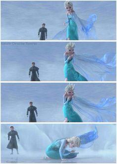 #Frozen #anna #princess #elsa #snow