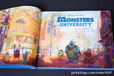 Image result for monster university concept art